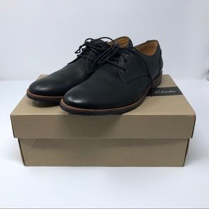 Clark's Broyd Comfort Oxford Shoes 7.5 Black